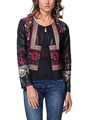 GOLDEN LIVE Chaqueta Embroidered Floral