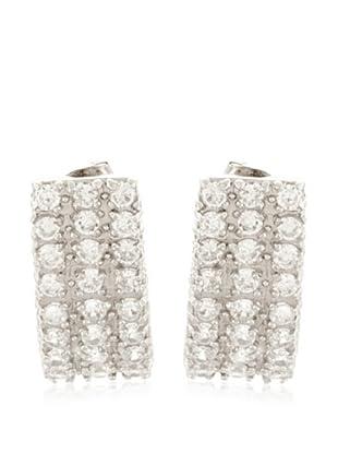 Silver One Pendientes Fashion Circonita