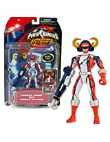 Bandai Year 2006 Power Rangers Operation Overdrive Series 5 1/2 Inch Tall Action Figure Torque Force Red Power Ranger With Robo Mode Helmet And Weapon