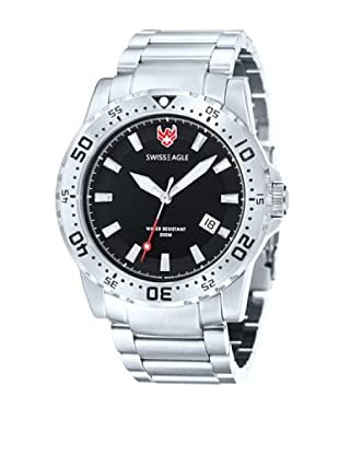 Swiss Eagle Reloj Dive Metalizado