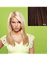 "22"" Straight Clip-In Hair Extensions by Jessica Simpson hairdo - R33"