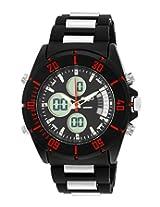 Maxima Ego Analog-Digital Black Dial Men's Watch - E-35100PAAN