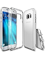 Galaxy S7 Case, Ringke [Fusion] Crystal Clear PC Back Transparent TPU Bumper [Drop Protection / Enhanced Classic Look][Attached Dust Cap] Customizable Protective Cover For Samsung Galaxy S7 - Crystal