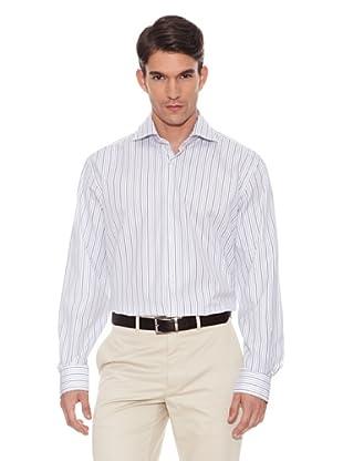 Hackett Camisa Rayas (Blanco)
