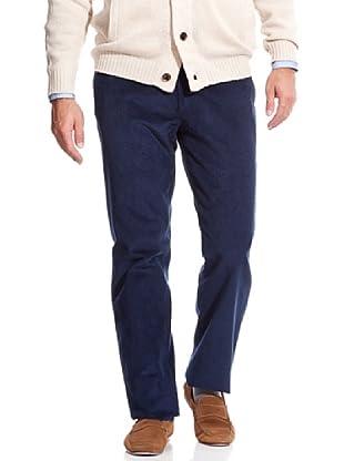 Cortefiel Pantalón Pana fina (Azul)