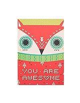 Awesome Fox Greeting Card