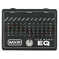 MXR 10 Band Graphic EQ