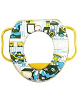 Wonderkids Multi Print Baby Cushioned Potty Training Seat With Handle ( 2205-MPPTS )