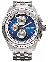 Swatch Blunge SVGK400G Chronograph Watch - For Men