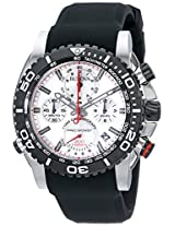 Bulova Precisionist Analog Silver Dial Men's Watch - 98B210