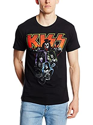ICONIC COLLECTION - KISS Camiseta Manga Corta Kiss