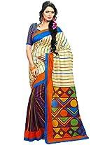Bhagalpuri Style Art Silk Saree 5104A