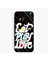 Eat play love HTC One M9 Cover