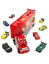 Disney Pixar Cars Movie 10-Piece Playset Exclusive 1:48 Mack Die Cast Carrier Ultimate Gift Set