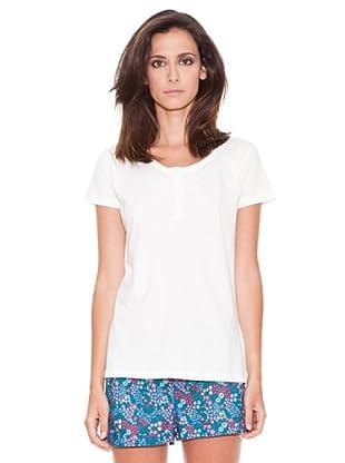 Women secret Camiseta Mc Lisa (Marfil)