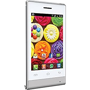 Jivi JSP 20 (White) with Flip Cover