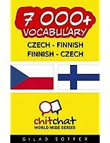 7000+ Czech - Finnish Finnish - Czech Vocabulary (ChitChat WorldWide)