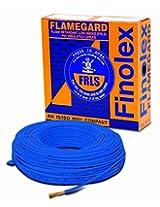 Finolex 6.0-Sqmm Flame Retardant Low Smoke and Halogen Cable (Blue)