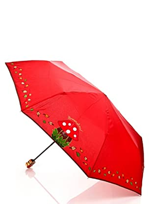 Braccialini Ombrello Fungo rosso
