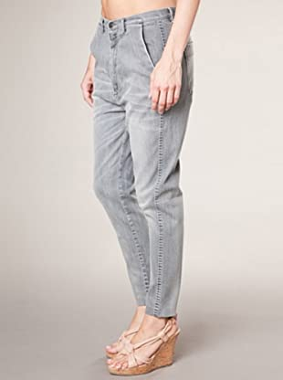 7 for all Mankind Jeans Metal Solidago Low Rise Boyfriend Style (Grau)