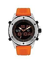 Bulova 98C118 Mens Marine Star Orange Rubber Strap Watch