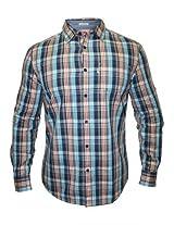 Levis Casual Blue Checks Shirt