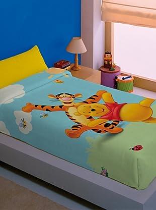 Disney Home Coperta Winnie The Pooh (Multicolore)
