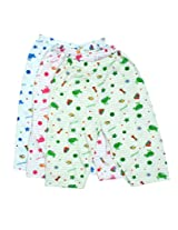 FabSeasons Cotton Pyjama / Bottom Wear for Infants, Pack of 3 for -15 Months