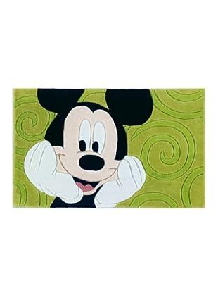 ABC Tappeti Alfombra Disney Tuft 3 (Mickey Verde)