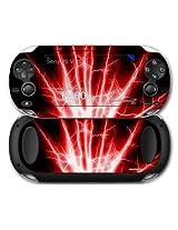 Sony Ps Vita Skin Lightning Red By Wraptor Skinz