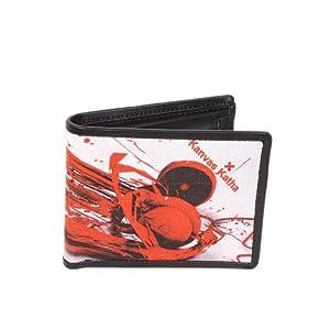 Kanvas Katha Canvas Digital Print Men's Wallet (KKMDW018)
