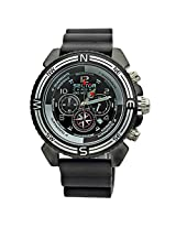 Sector Black Chronograph Men Watch R3271603125