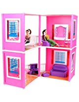 Toyzone Glamour Doll House, Multi Color