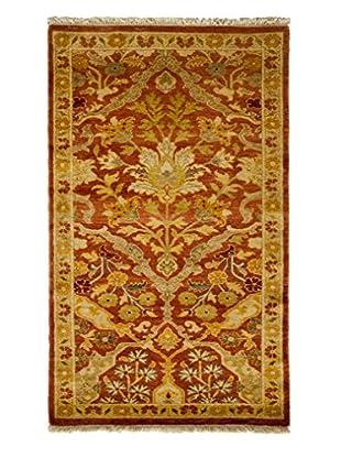 Darya Rugs Traditional Oriental Rug, Rose, 2' 7