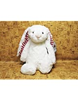 Jellycat Bashful Bunny Candy Stripe Medium