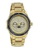 Titan Regalia Champagne Dial Analog Watch For Men - 1688KM01