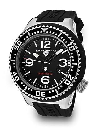 Swiss Legend Reloj Cuarzo Neptuno negro/blanco