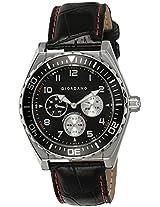Giordano Analog Black Dial Men's Watch - 1541-01
