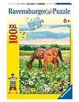 Ravensburger Horse S Pasture 100 Pieces Puzzle By Ravensburger
