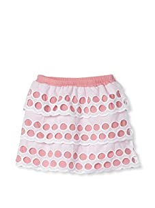 Journal Girl's Eyelet Layered Skirt (Pink)