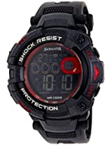 Sonata Ocean  Digital Black Dial Men's Watch - 77010PP02J