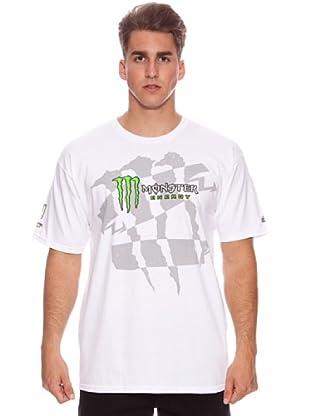 Monster Energy Camiseta Dazed (Blanca)