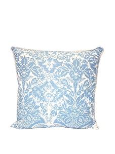 "Lacefield Designs Anne Mayflower 20"" x 20"" Pillow, Blue"