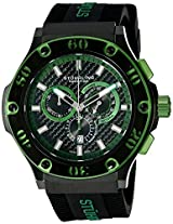 Stuhrling Prestige Men's 292P.335971 Prestige Harbinger Chronograph Date Silicone Rubber Strap Watch
