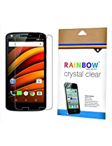 Rainbow Crystal Clear Protector Screen Guard for Motorola Moto X Force