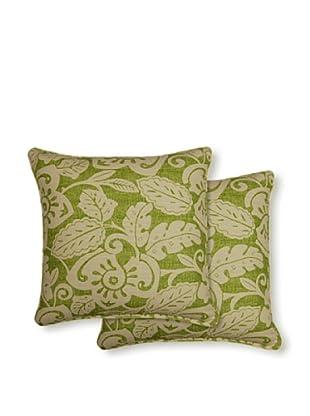 Dakota Set of 2 Amazon Pillows (Grass)