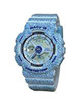 Casio Baby-G Analog-Digital Blue Dial Women's Watch - BA-110DC-2A2DR(BX049)