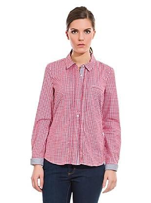 Cortefiel Camisa Preppy Cuadro (Rojo)