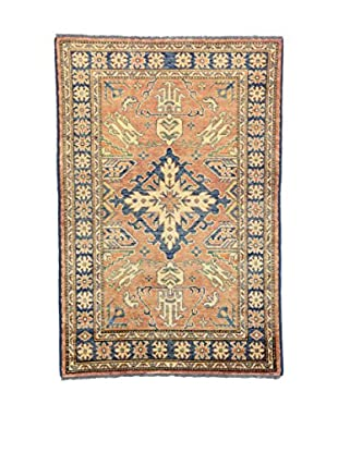 Eden Teppich   Uzebekistan 101X150 mehrfarbig