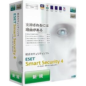 ESET Smart Security V4.0 �摜